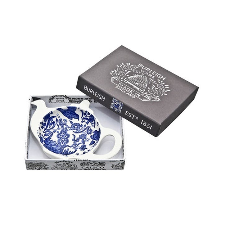 Regal Peacock Mini Teapot Tray, Blue