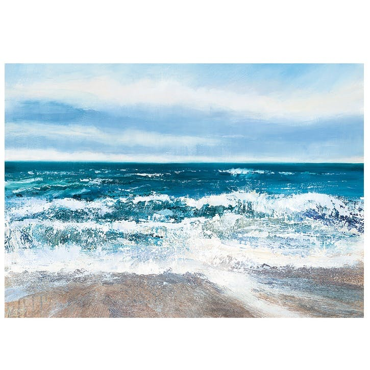 Joanne Last Pull of the Tide Canvas Print - 85 x 120cm