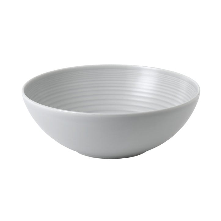 Gordon Ramsay Maze Serving Bowl, Light Grey