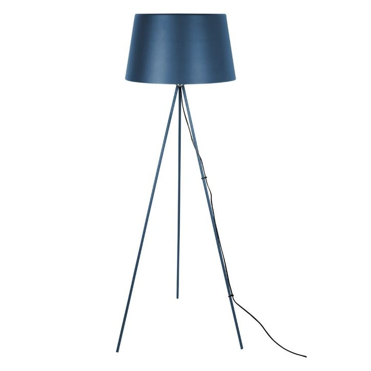 Tripod Floor Lamp, Blue