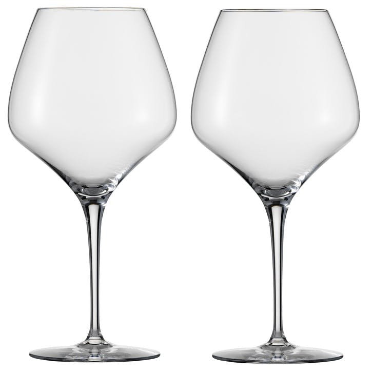 The First Burgundy Wine Glass, Set of 2