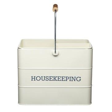 Living Nostalgia Housekeeping Box in Antique Cream