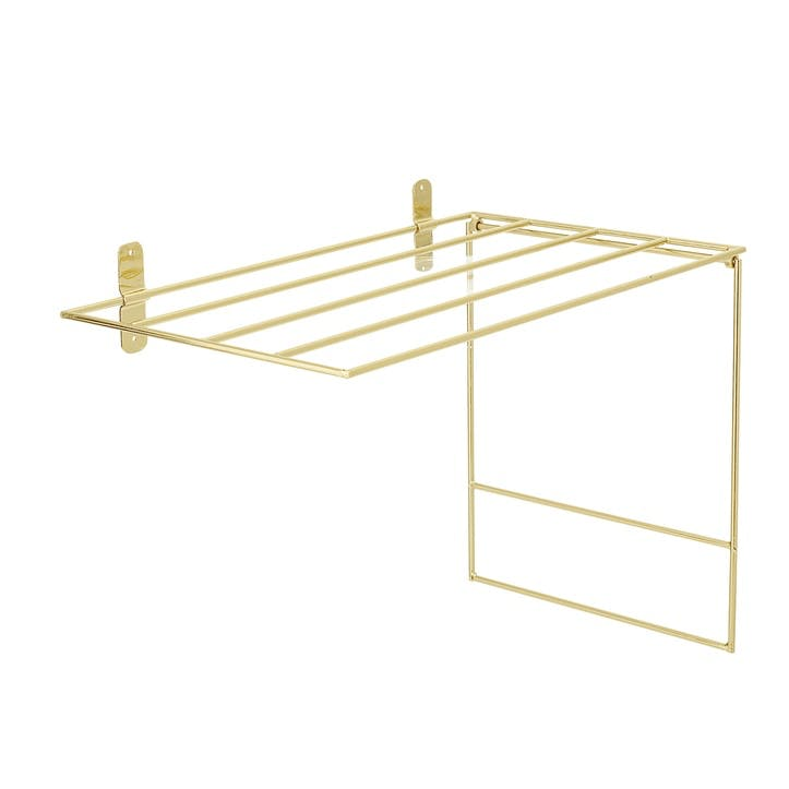 Gold Towel Rack