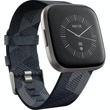 Versa 2 SE Smart Watch, Smoke Woven