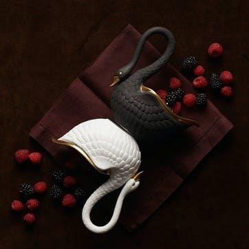 Swan Bowl, White