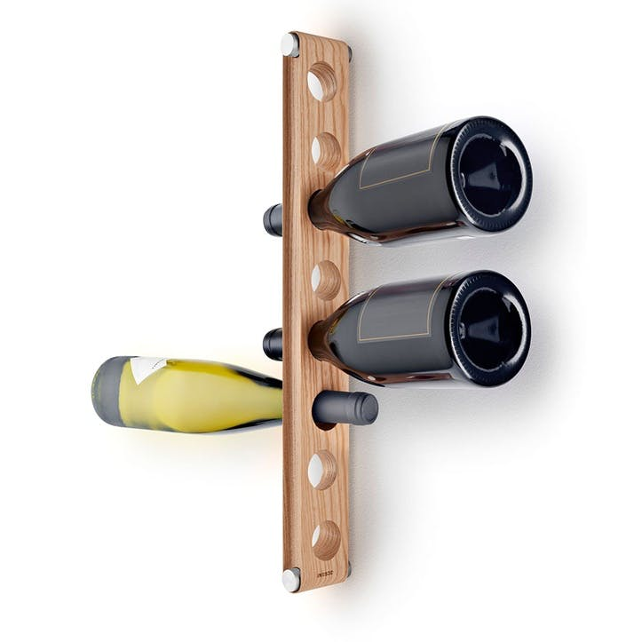 Set of 2 Hanging Wine Racks, Wooden