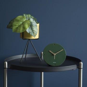 Mantle Alarm Clock, Green