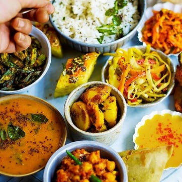 North Indian Thali Class for Two at Jamie Oliver's Cookery School