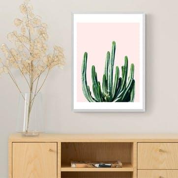 83 Oranges, Cactus Framed Art Print