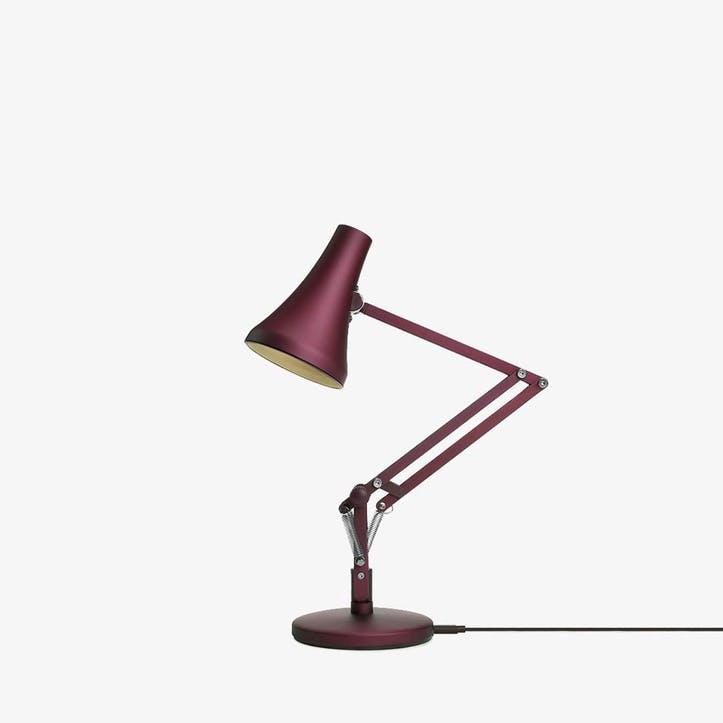 90 Mini Desk Lamp, Berry Red