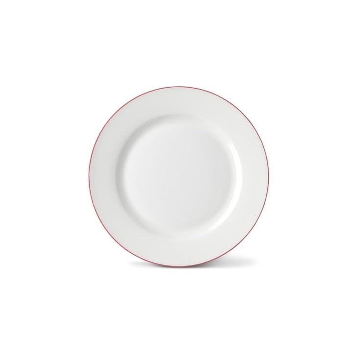Rainbow Side Plate, Rose Pink