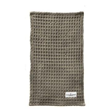 Waffle Wash Cloth, L40 x W25cm, Clay