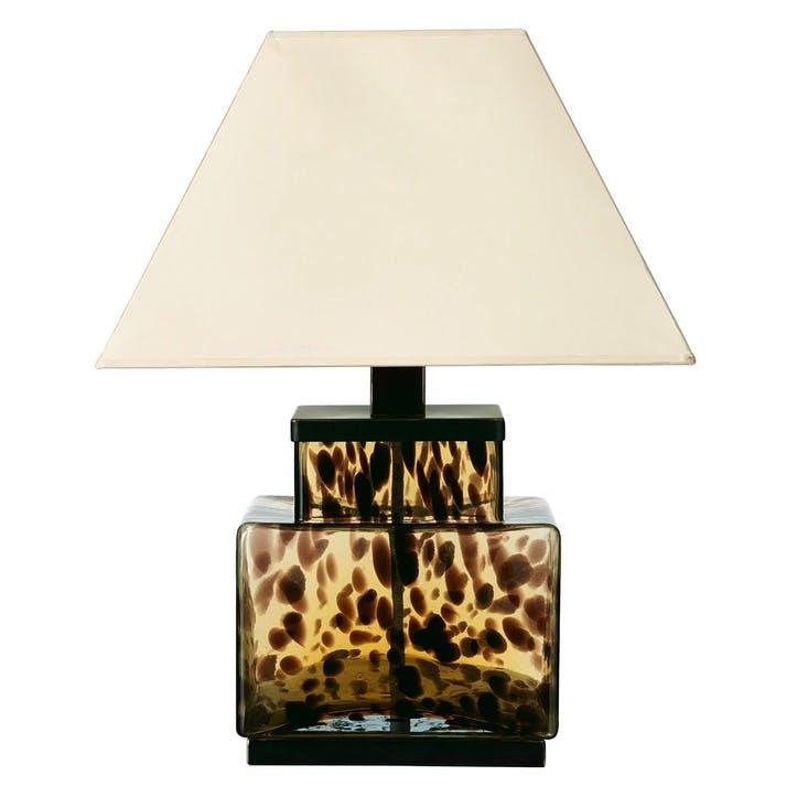 Faux Tortoiseshell Lamp
