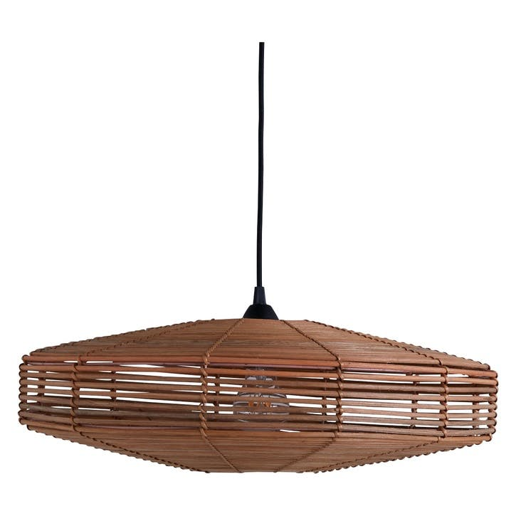 Somerset Hanging Lamp Small Brown Wash Chandeliers Lamp