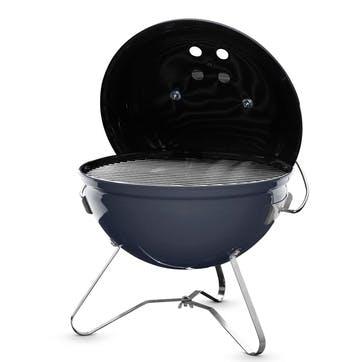 Smokey Joe® Premium Charcoal Barbecue, Slate Blue