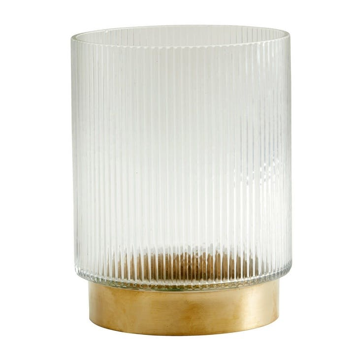 Fluted Ring Vase