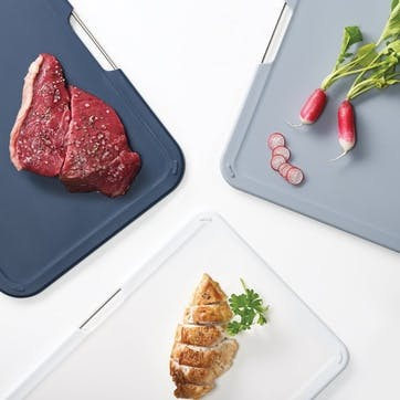 Nest Chopping Boards - Large; Grey