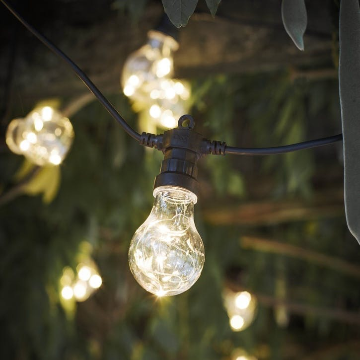 Festoon Lights, 20 Bulbs