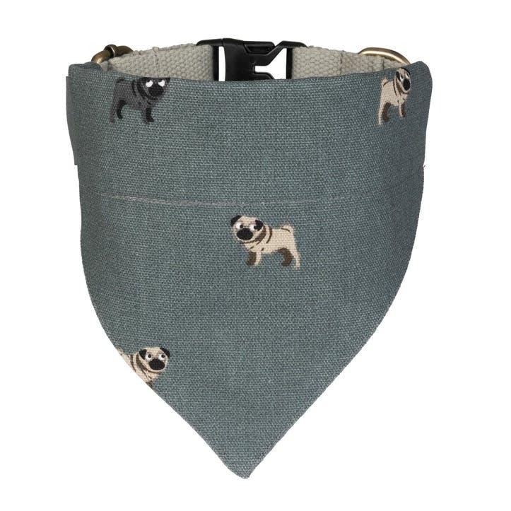 'Pug' Neckerchief Collar - Small