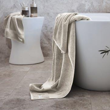 Eden Organic Cotton Ivory Bath Towel