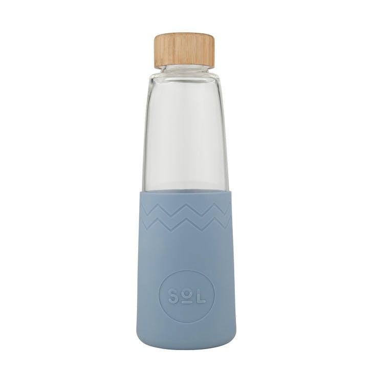 Water Bottle; Blue Stone