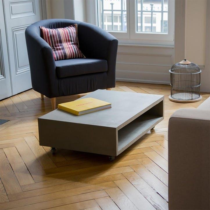 Monobloc Rectangular Coffee Table