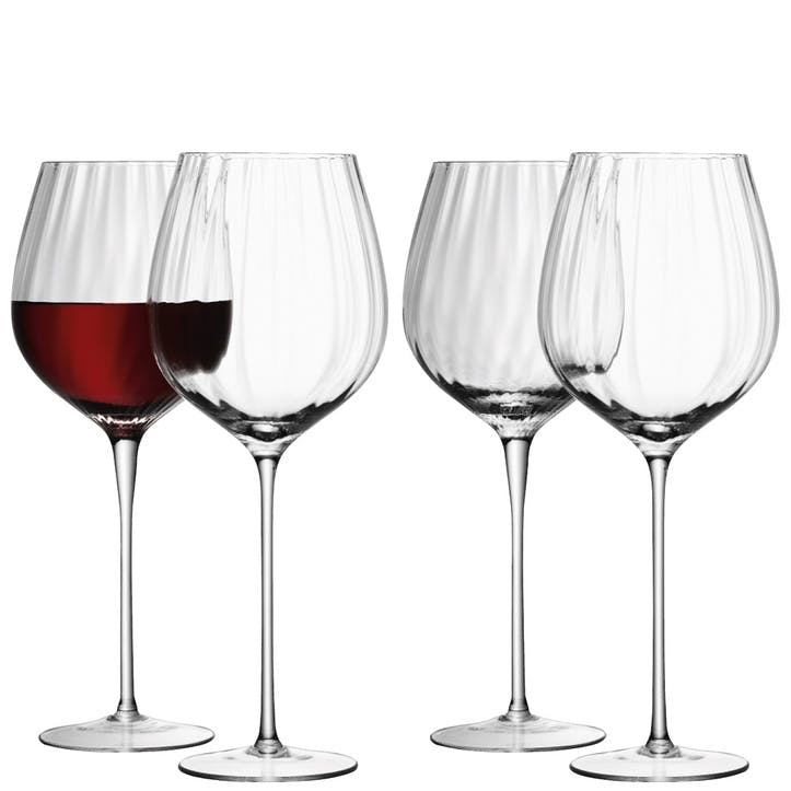 LSA Aurelia Red Wine Glass, 660ml, Set of 4