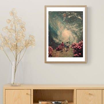 Frank Moth, Will be Light Framed Art Print