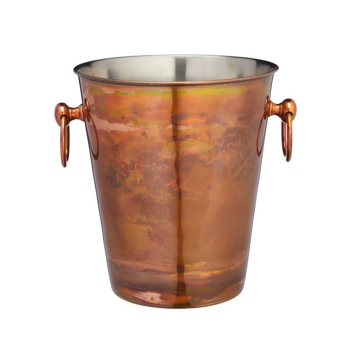 Iridescent Copper Champagne Bucket