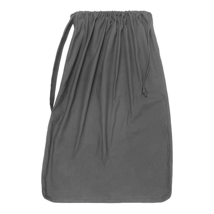 Panama Laundry And Storage Bag, H100 x W70cm, Dark Grey