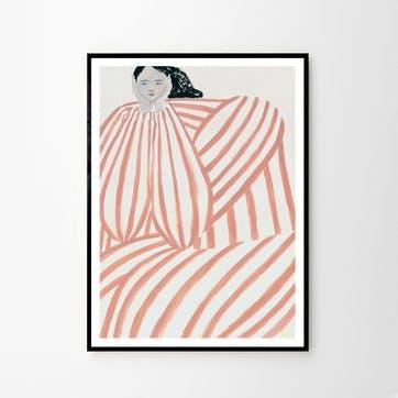 Still Waiting - Sofia Lind Art Print, D50cm x H70cm