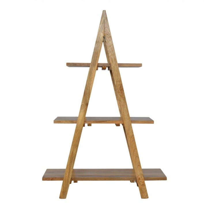 Cotswold Ladder Shelving Unit, Natural