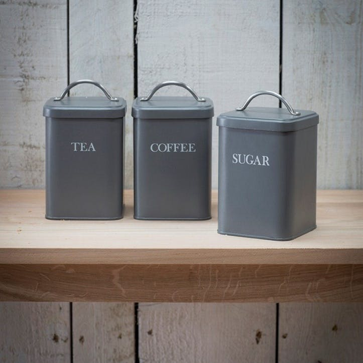 Coffee Canister in Charcoal