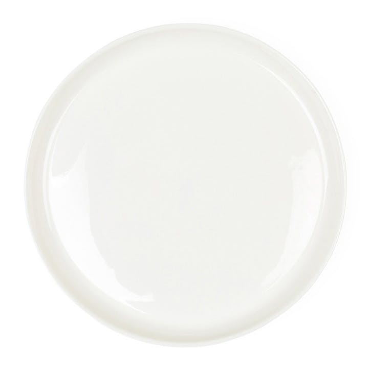 Porcelain Charger Plate, Milk White