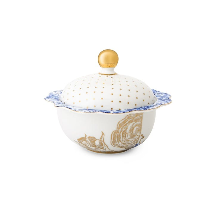 PiP Royal White Sugar Bowl