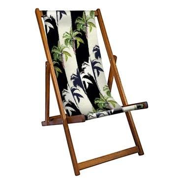 Deckchair Palm Shadow