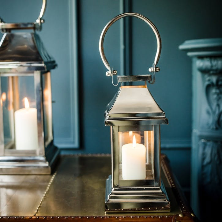 Station Lantern - Extra Small; Stainless Steel