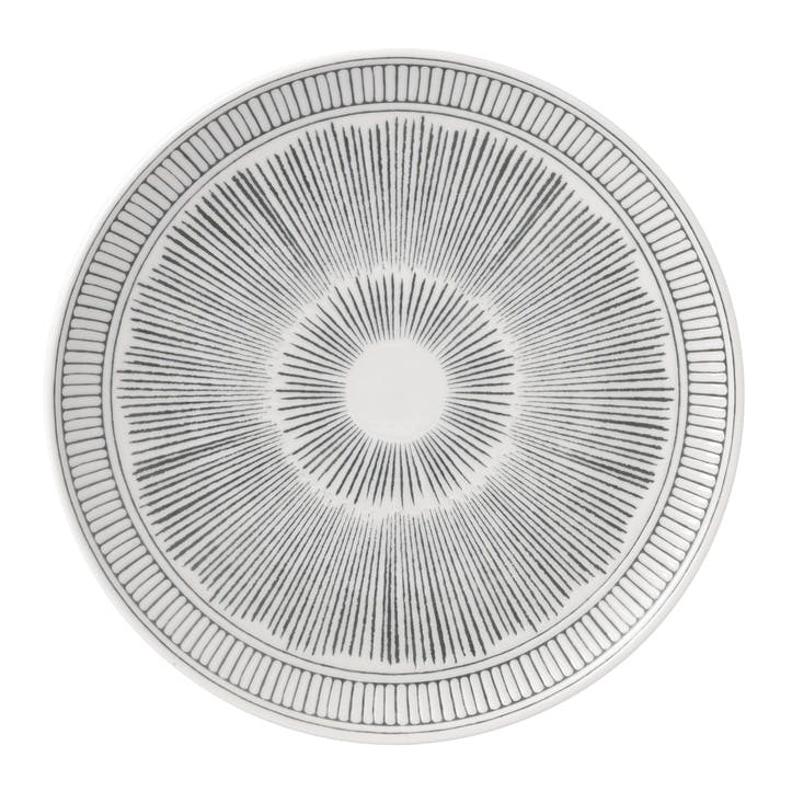 ED Ellen DeGeneres Side Plate, Charcoal Grey