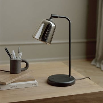 Material, Table lamp, W19 x D25cm, Stainless Steel