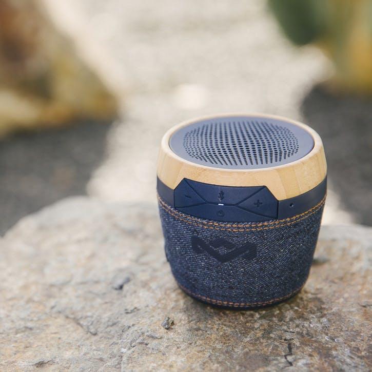 Chant Mini Bluetooth Speaker, Denim