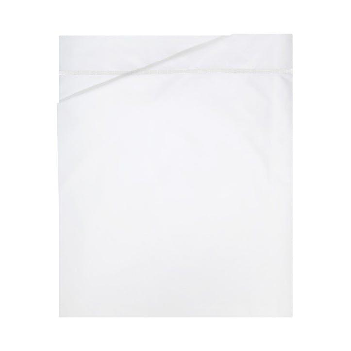 Athena Blanc Flat Sheet