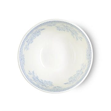 Asiatic Pheasants Footed Bowl, Mini, Blue