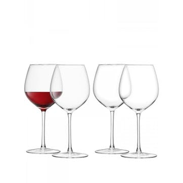 LSA Wine Red Wine Glass 400ml, Set of 4