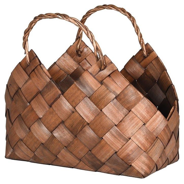 Woven Willow Storage Bag