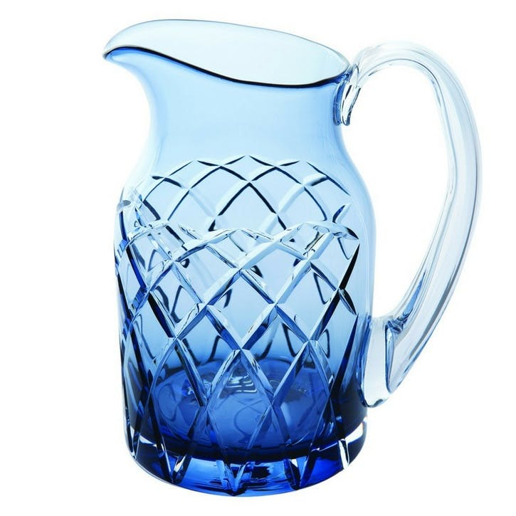 Harris Water Jug, Ink Blue