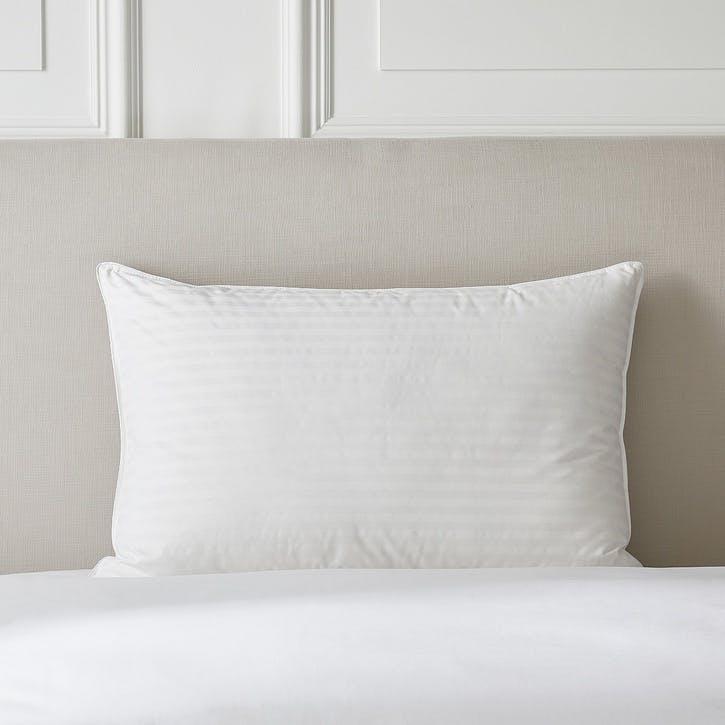 Hungarian Goose Down Support Pillow, Standard, Medium/Firm