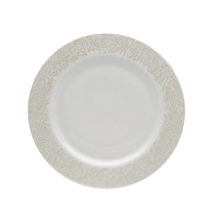 Lucille Gold Dinner Plate, 28.5cm