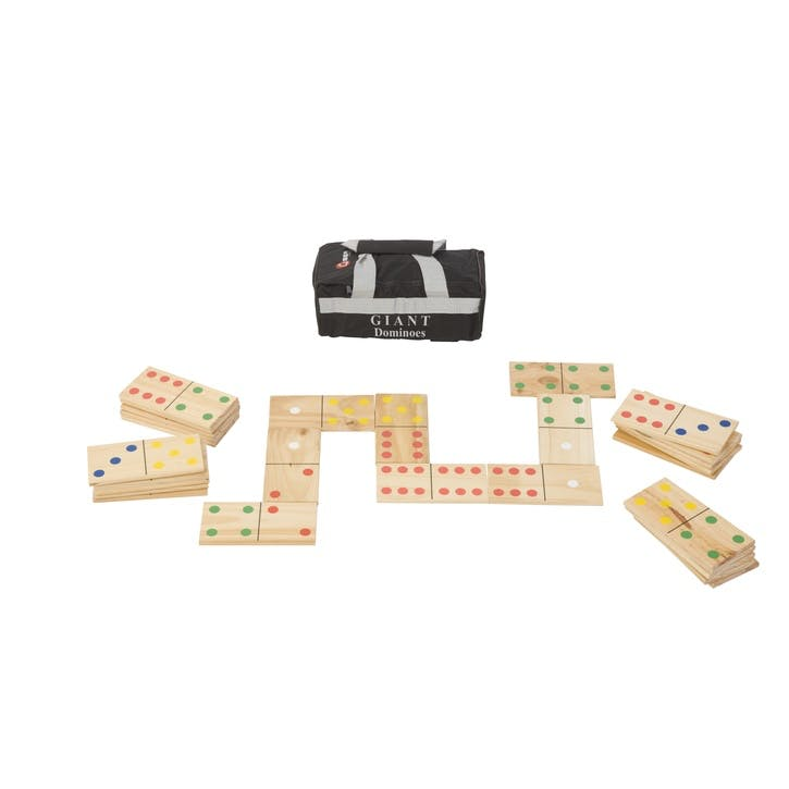 Giant Dominoes Game, 18cm, Multi