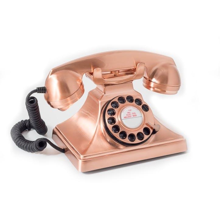 200 Telephone; Bronze