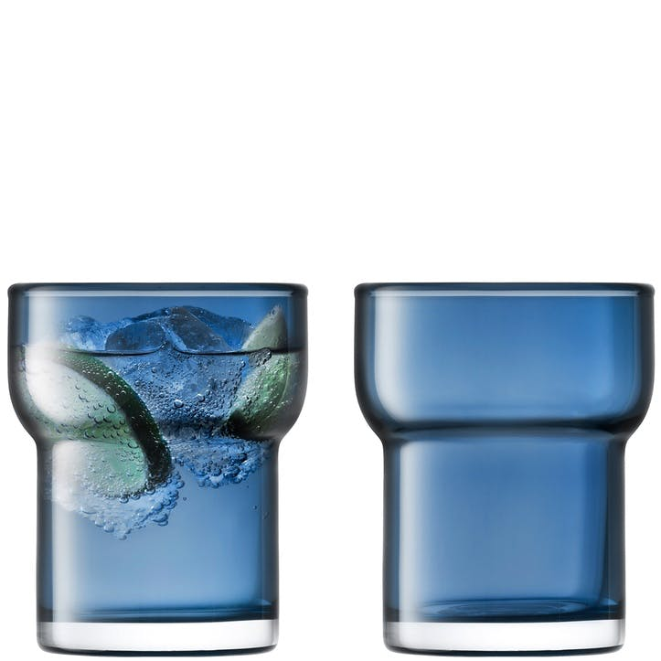 Utility Set of 2 Tumblers; Sapphire